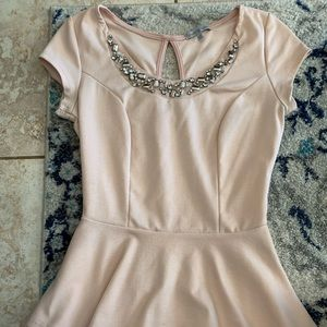 Charolette Russe pink blouse